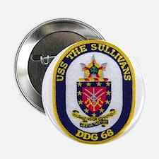 "USS THE SULLIVANS 2.25"" Button (10 pack)"