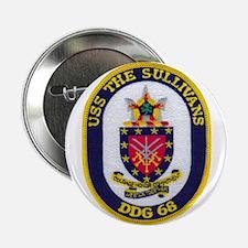 "USS THE SULLIVANS 2.25"" Button"