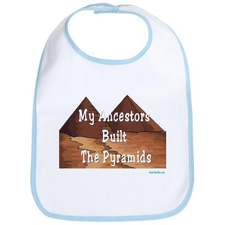 Ancestors Pyramids Passover Bib