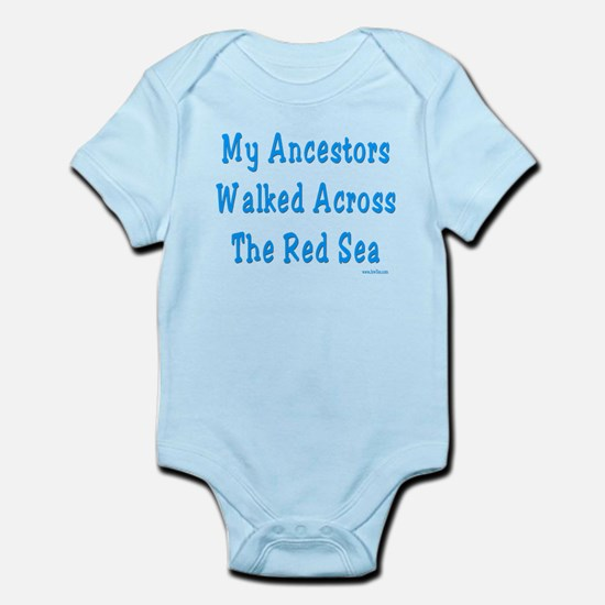 Red Sea Passover Infant Bodysuit
