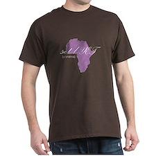 Amharic Grandma (lavender) T-Shirt