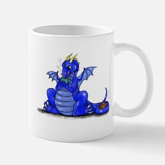 Dragon Drinking Tea Mugs