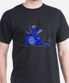 Funny Blue dragon T-Shirt