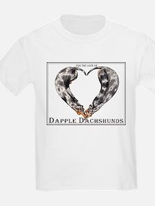 Love of Dapple Dachshunds T-Shirt