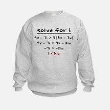 Cute Algebra Sweatshirt