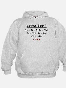 Cute Algebra Hoodie
