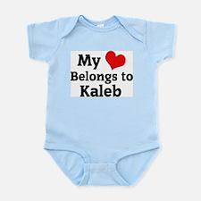My Heart: Kaleb Infant Creeper