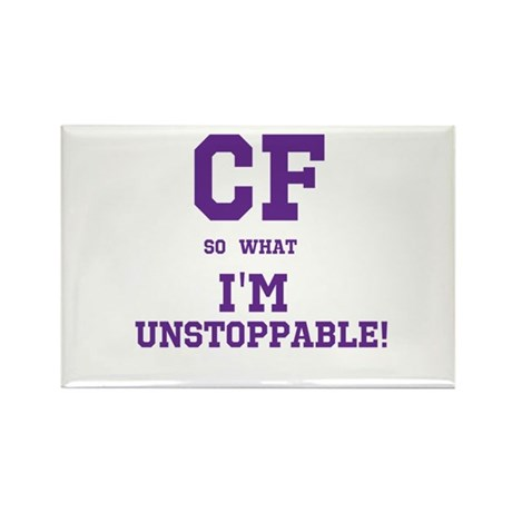 CF Unstoppable Rectangle Magnet