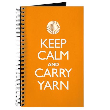 Orange Keep Calm and Carry Yarn Sigg Bottle 1.0L