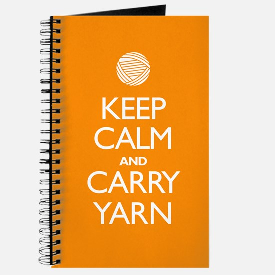 Orange Keep Calm and Carry Yarn Sigg Bottle 1.0L