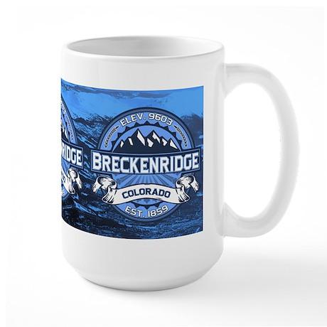 Breckenridge Blue Large Mug