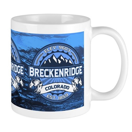 Breckenridge Blue Mug