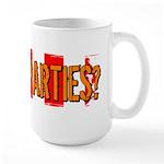 Got Tea Parties? Distressed Large Mug