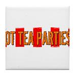 Got Tea Parties? Distressed Tile Coaster
