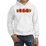 Got Tea Parties? Distressed Hooded Sweatshirt