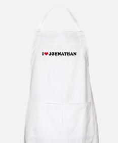 I LOVE BOYS ~  BBQ Apron