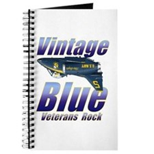 Funny Blue angels Journal
