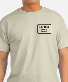 """LaFleur Head of Security"" T-Shirt"