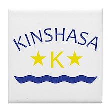 Kinshasa Tile Coaster