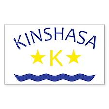 Kinshasa Rectangle Decal