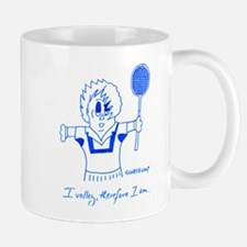 I VOLLEY, THEREFORE I AM. Mug