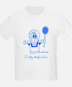 I VOLLEY, THEREFORE I AM. T-Shirt