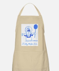 I VOLLEY, THEREFORE I AM. Apron