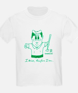 I DRIVE, THEREFORE I AM. T-Shirt