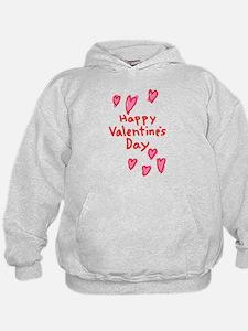 Valentines Hearts Hoodie