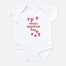 Valentines Hearts Infant Bodysuit