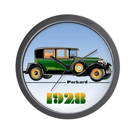 The 1928 Packard Wall Clock