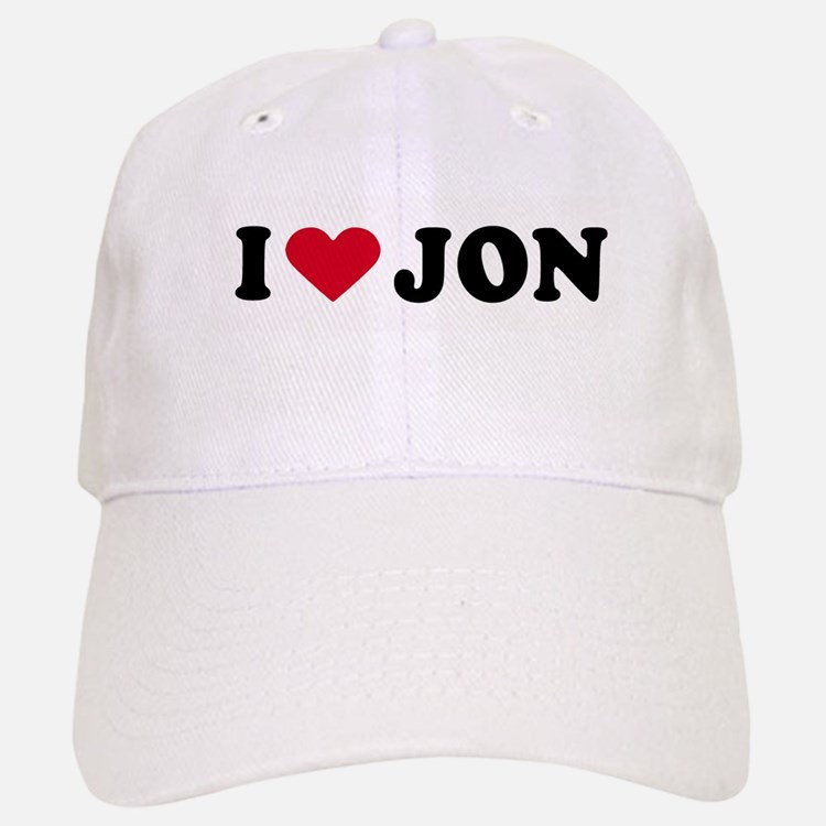 I LOVE BOYS ~ Baseball Baseball Cap