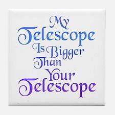 Astronomy Humor Tile Coaster