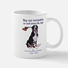 Sun-Dog-RIP-trans Mugs