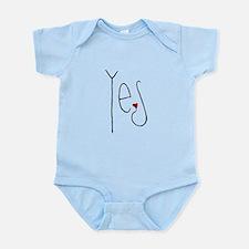 Yes Heart Infant Bodysuit