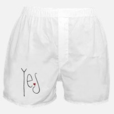 Yes Heart Boxer Shorts