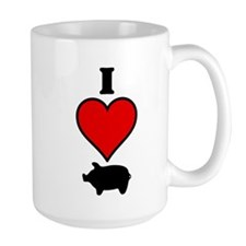 I heart Pig Mug