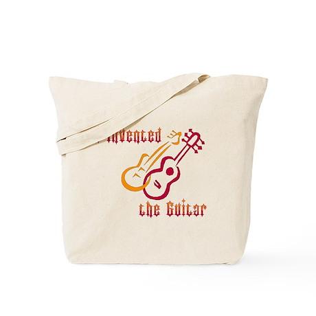 I Invented the Guitar Tote Bag