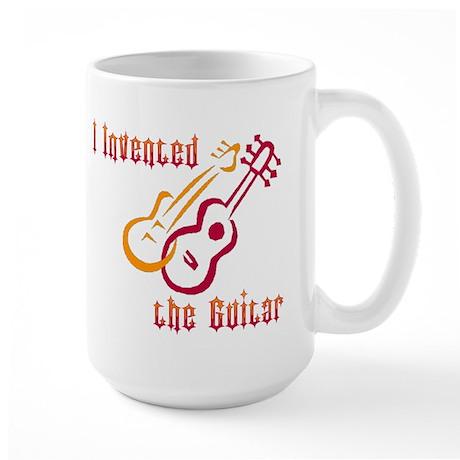 I Invented the Guitar Large Mug