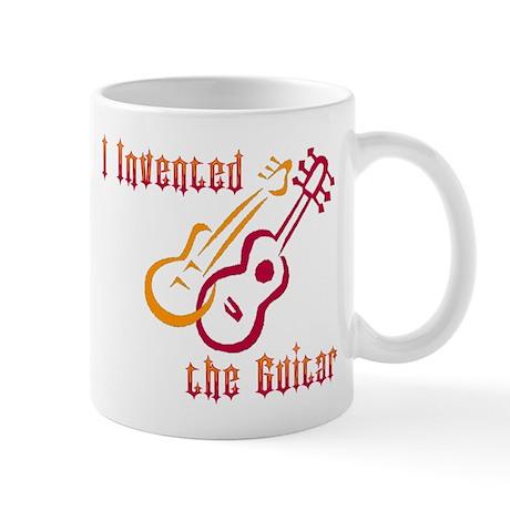 I Invented the Guitar Mug