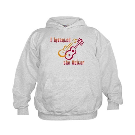 I Invented the Guitar Kids Hoodie