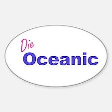 Die Oceanic Oval Decal