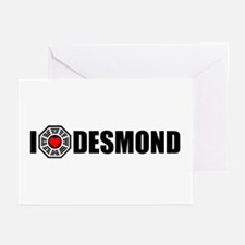 I Love Desmond - Dharma Greeting Cards (Pk of 10)