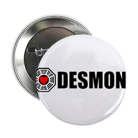 "I Love Desmond - Dharma 2.25"" Button"