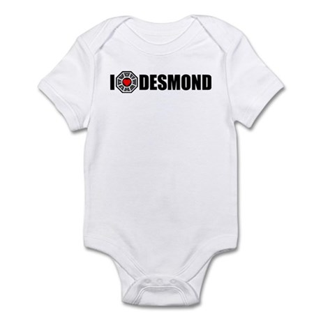 I Love Desmond - Dharma Infant Bodysuit