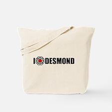 I Love Desmond - Dharma Tote Bag
