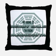 My Name Is Henry Gale Throw Pillow