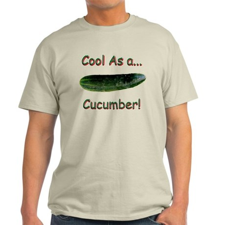 Cool Cucumber! Ash Grey T-Shirt