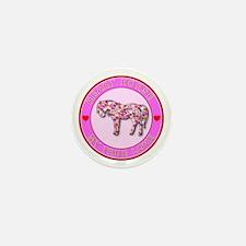 HEART HORSE - My True Love Mini Button