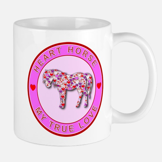 HEART HORSE - My True Love Mug